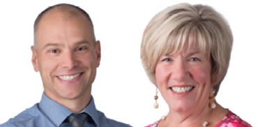 Dr. Tim Holland and Ms. Nancy MacCready-Williams
