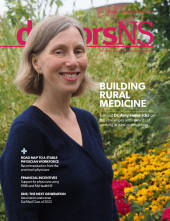 October 2018 doctorsNS magazine cover-Dr. Amy Hendricks