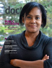 Cover image of November 2019 issue of doctorsNS magazine