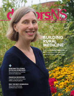 October 2018 magazine cover-Dr. Amy Hendricks