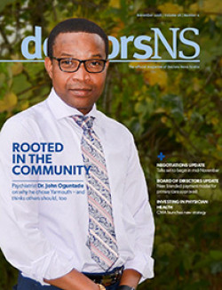 October 2018 magazine cover-Dr. John Oguntade