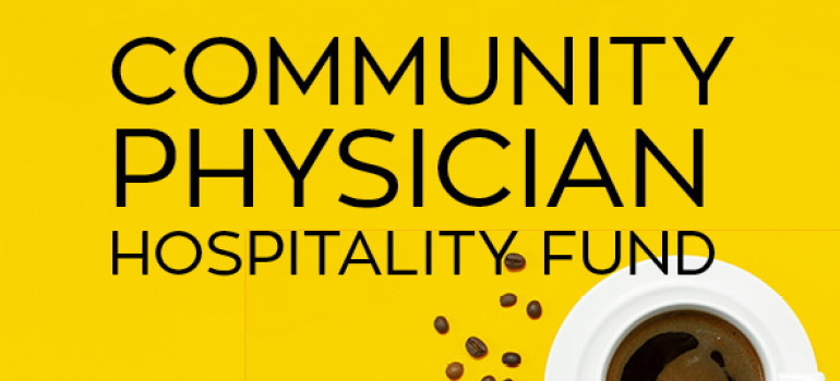 Community Physician Hospitality Fund graphic